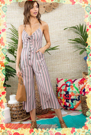 Turning the Tides Jumpsuit