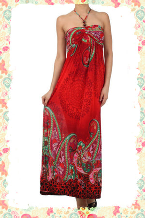 Travelling to the Tropics Maxi Dress