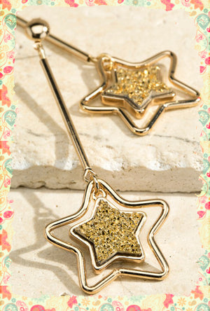 You Are My Shooting Star Earrings