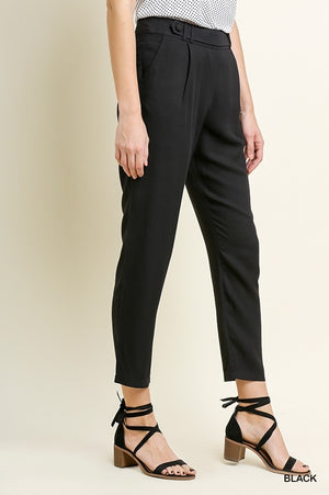 Off to the Office We Go Cropped Pant