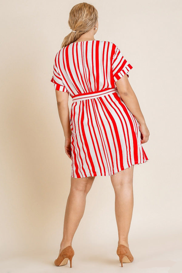 Red and White For The Win Dress