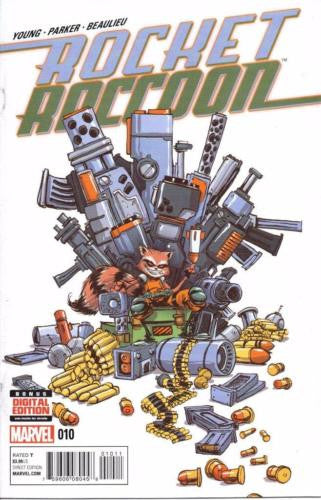 MARVEL ROCKET RACOON #10