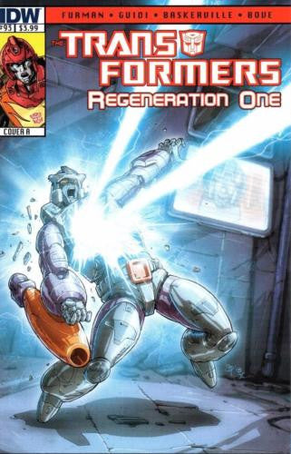 IDW TRANSFORMERS REGENERATION ONE #93