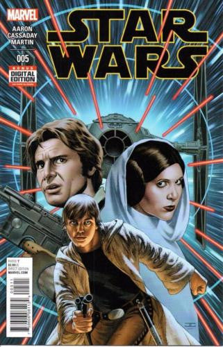 MARVEL STAR WARS DARTH VADER #5