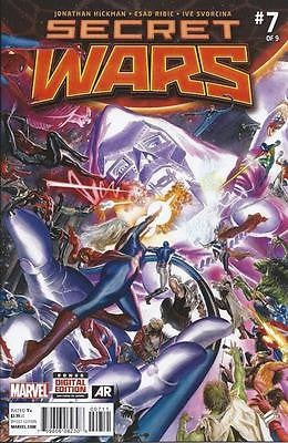 MARVEL 2015 SECRET WARS #7