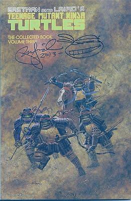 MIRAGE TMNT TEENAGE MUTANT NINJA TURTLES COLLECTED BOOK #3 UNREAD SIGNED LAIRD