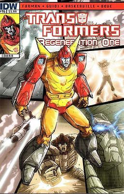 IDW TRANSFORMERS REGENERATION ONE #96