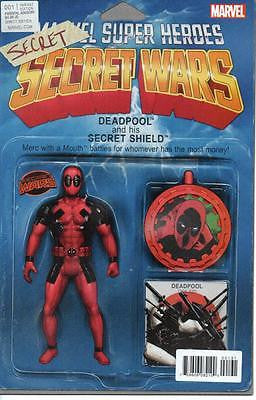 MARVEL 2015 DAREDEVIL'S SECRET SECRET WARS #1 FIGURE VARIANT