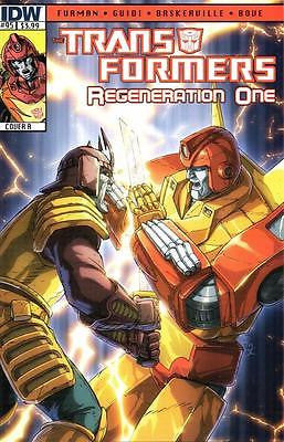 IDW TRANSFORMERS REGENERATION ONE #95