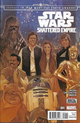 MARVEL STAR WARS SHATTERED EMPIRE #1