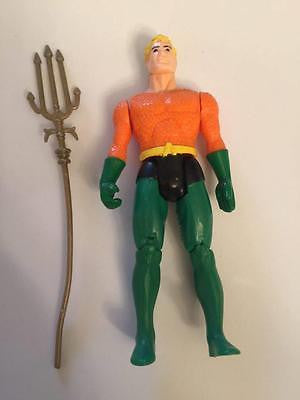 VINTAGE 1984 DC SUPER POWERS AQUAMAN 100% COMPLETE