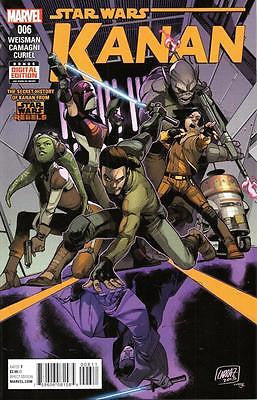 MARVEL STAR WARS KANAN #6