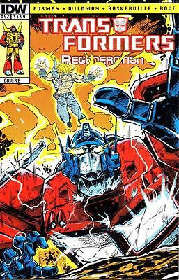 IDW TRANSFORMERS REGENERATION ONE #92
