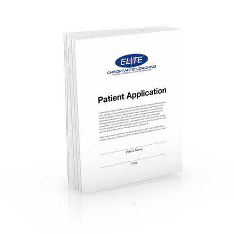 Patient Application Form with Your Logo