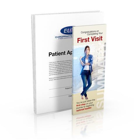 First Visit Pamphlet and Patient Application Package (250)