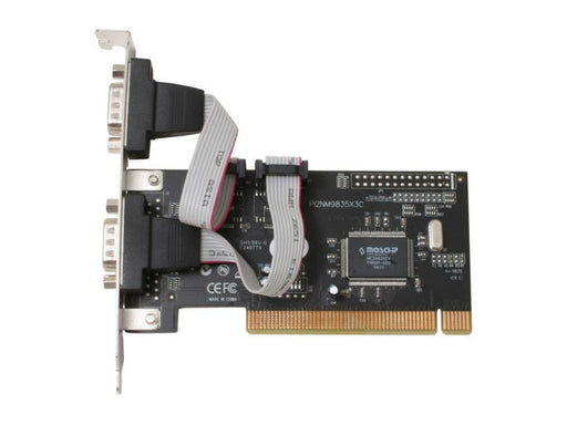 BYTECC 32Bits 2 Port Serial PCI Card Model BT- P2S