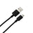 39.9'' Braided Cable For Micro USB 2.0 Devices Black