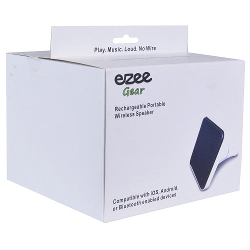 Ezee Gear EZ-SC10 Compact Portable Rechargeable Bluetooth
