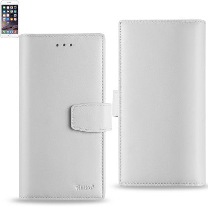 Genuine Leather Hidden Wallet Case for Iphone 6/ 6S Plus 5.5'' With RFID Shielded Card Slots,