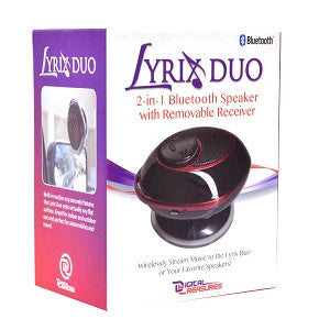 Lyrix Duo 2-in-1 Bluetooth Speaker