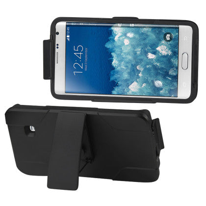 Silicone Case + Protector Cover Samsung Galaxy Note Edge
