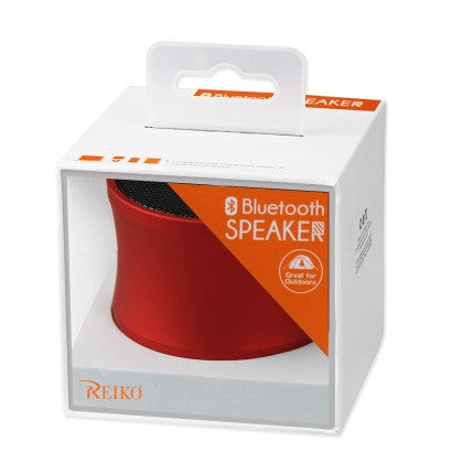 UNIVERSAL MINI BLUETOOTH SPEAKER RED SPBT03-UNIRD