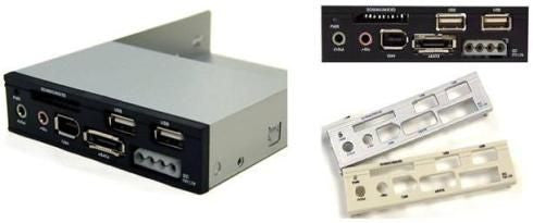 U2CR-701 IEEE 1394a / USB 2.0 / eSATA Card Reader/Writer