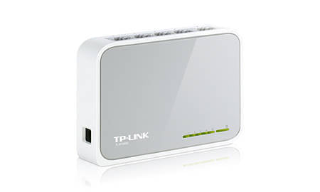 TP-LINK 5-Port 10/100Mbps Desktop Switch