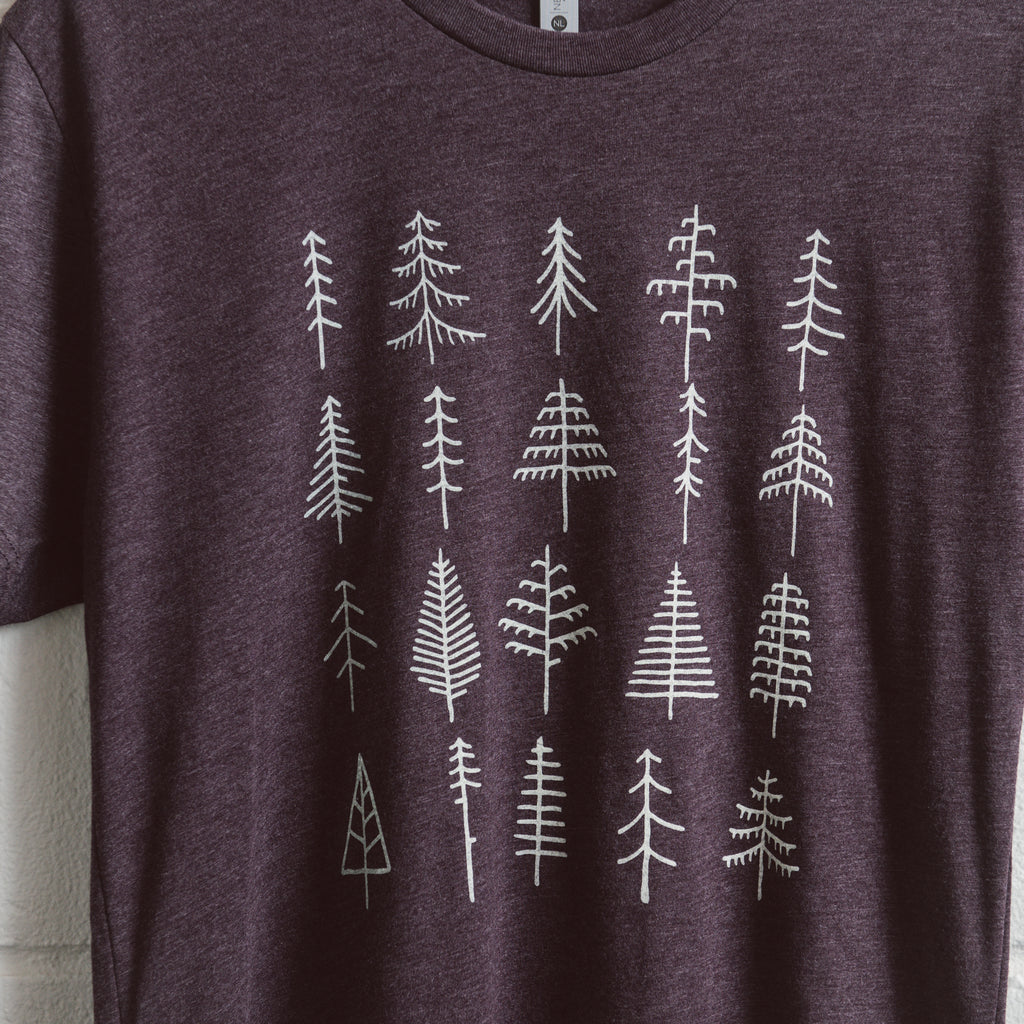 Pine Trees | Heather Dark Purple