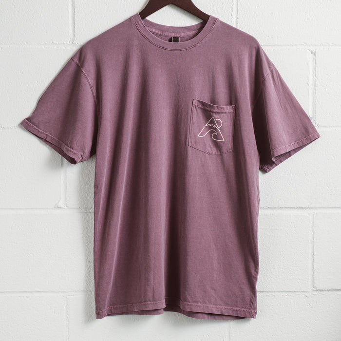 Surf Mountain | Purple Pocket T