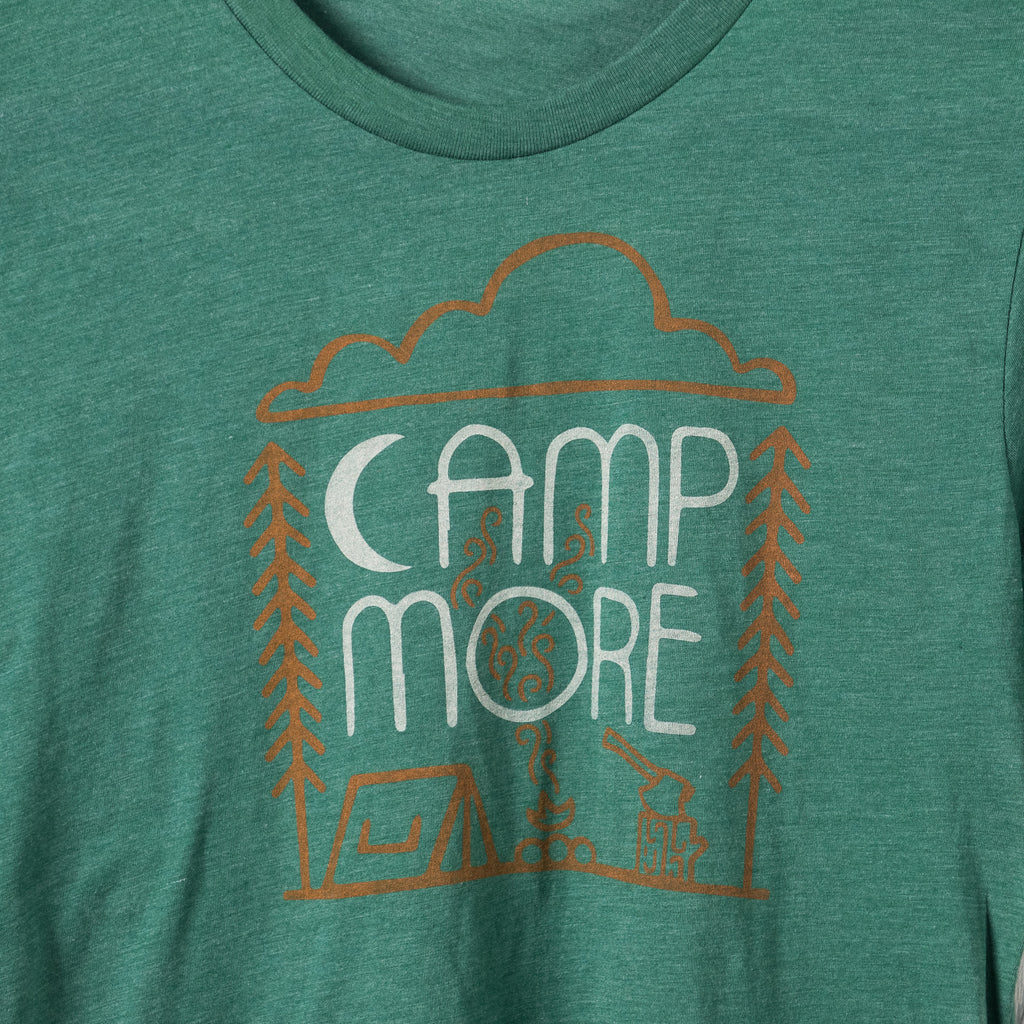 Camp More | Grass Green Triblend