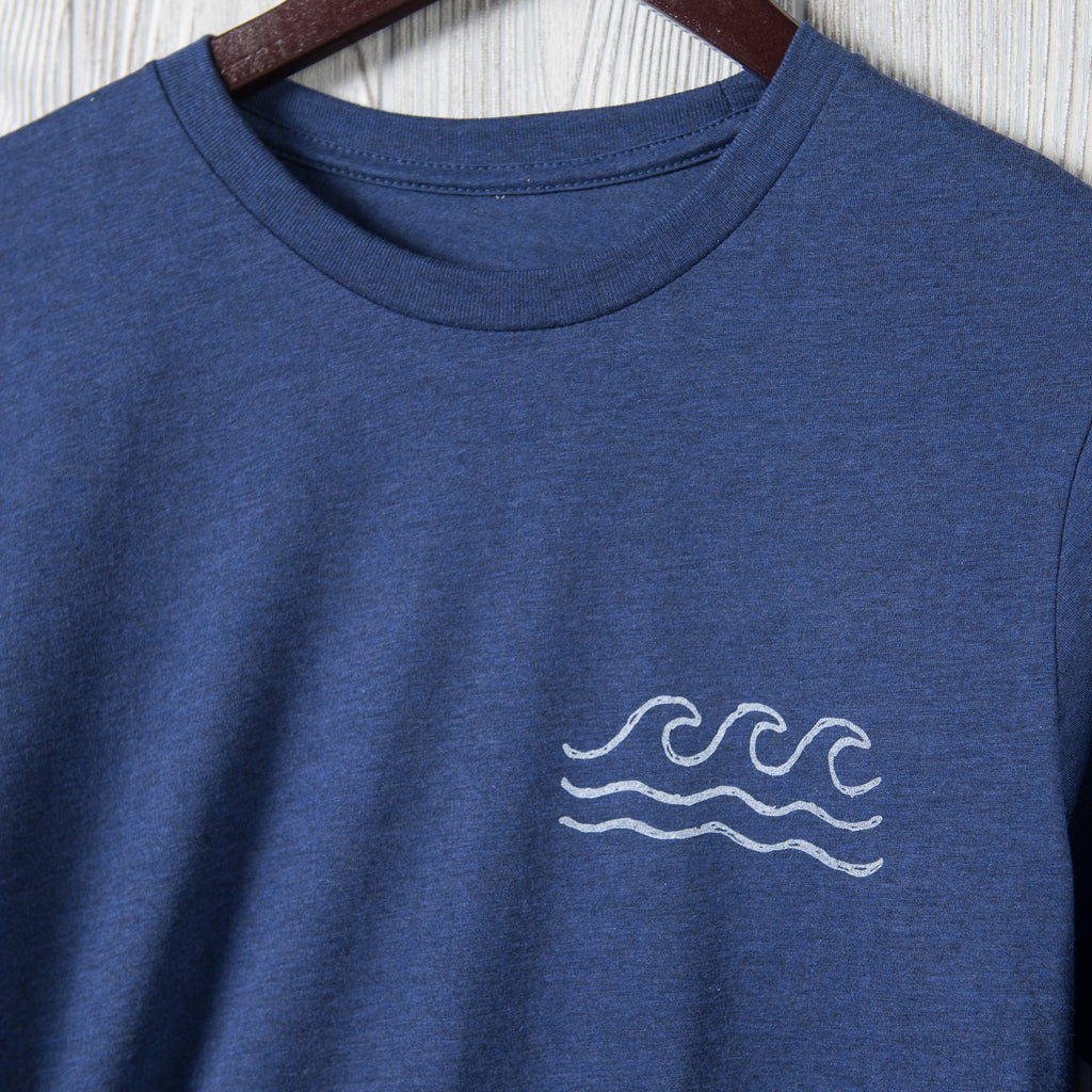 Surf | Heather Blue Longsleeve