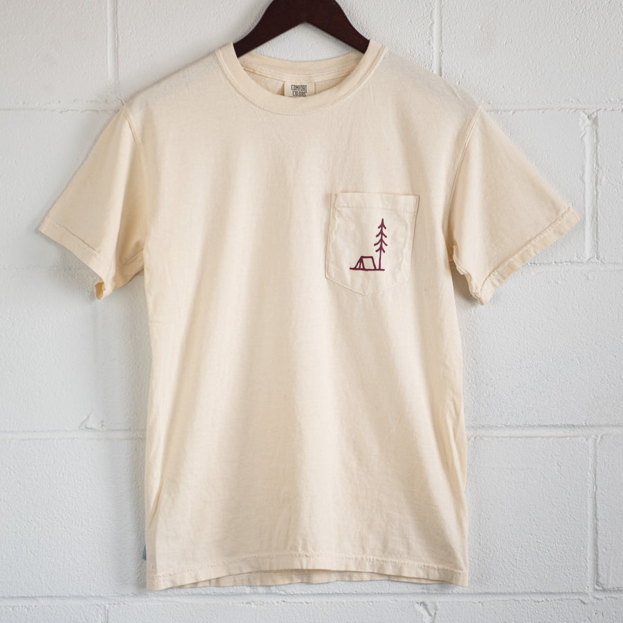 Simple is Better | Cream Pocket T