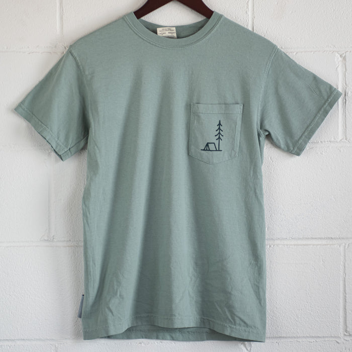 Simple is Better | Teal Pocket T