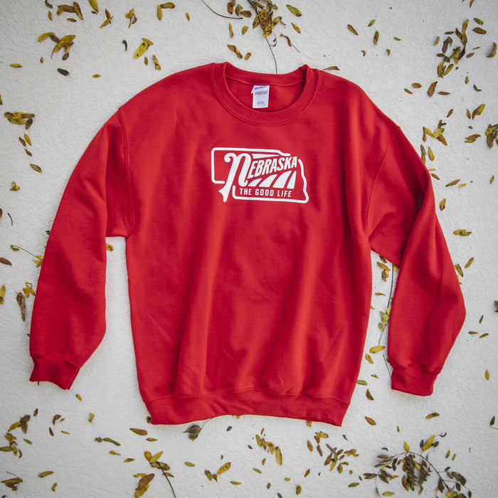 Nebraska The Good Life Sweatshirt