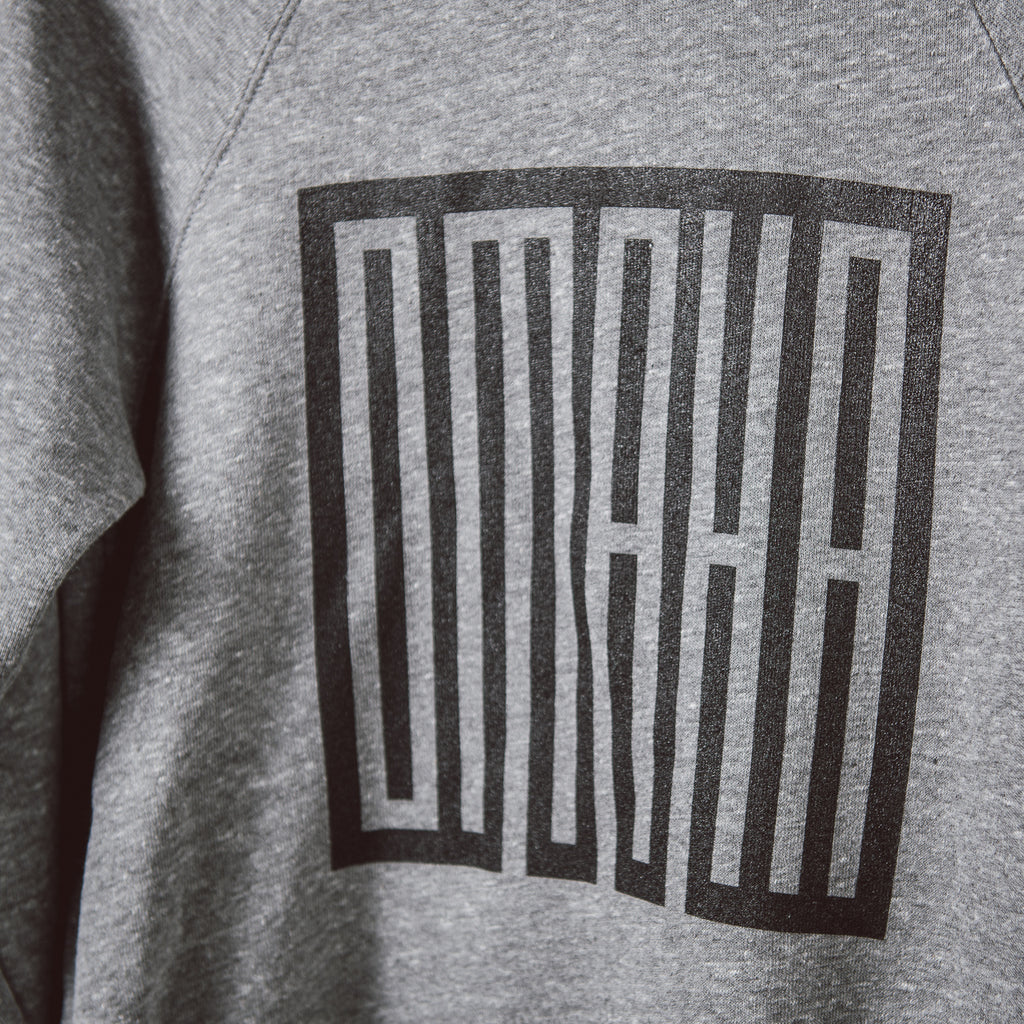 Omaha | Crewneck Sweatshirt | Grey