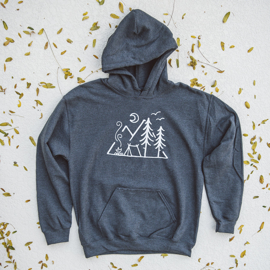Mountain Camping - Hoodie