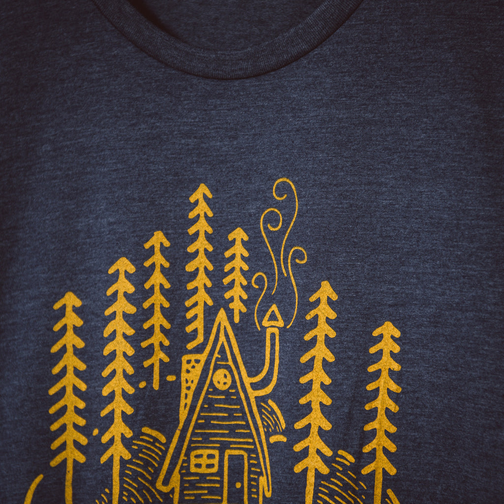 Cabin in the Woods | Heather Navy