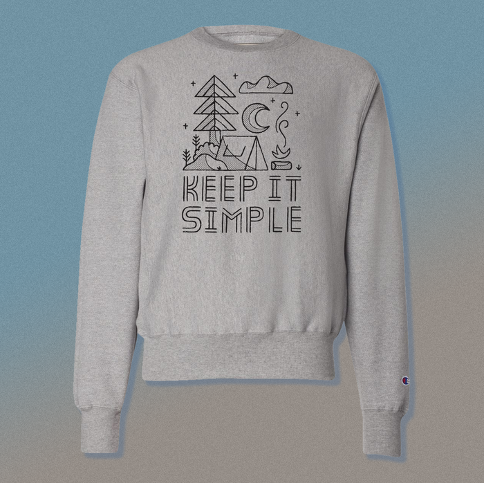 Keep It Simple | Champion Crewneck
