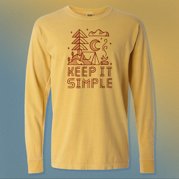 Keep It Simple | Mustard Long Sleeve