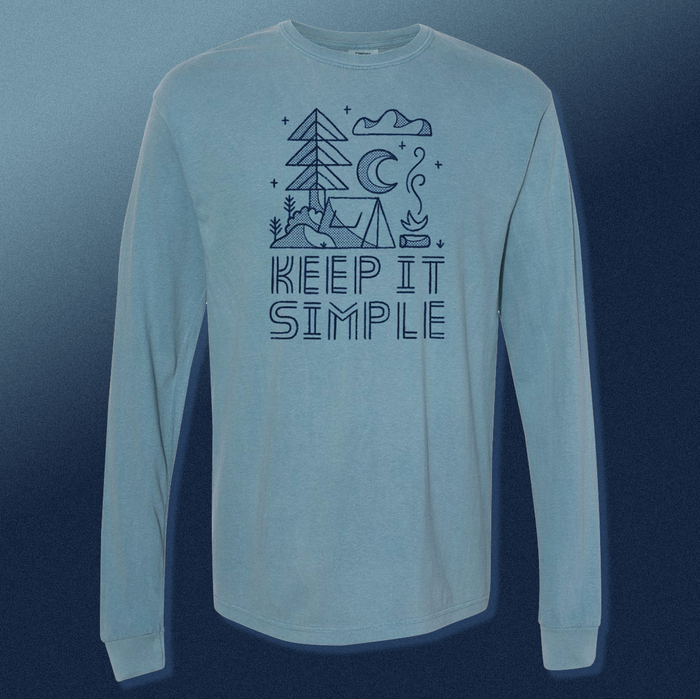Keep It Simple | Blue Long Sleeve