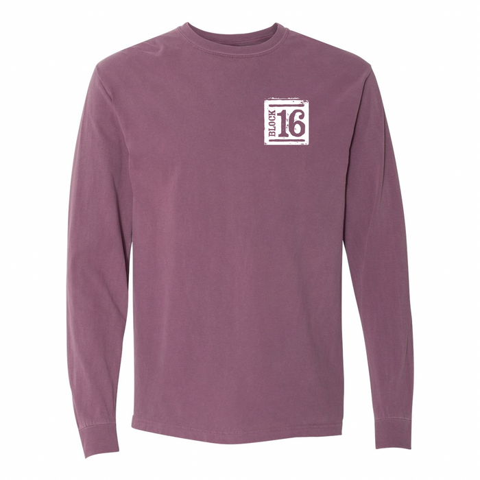 Block 16 - Potato Long Sleeve - Berry