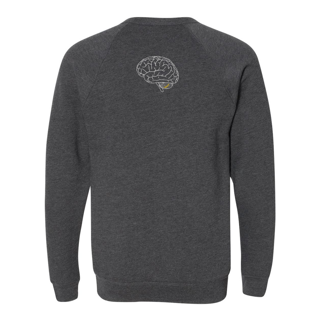 HALLES HEROES - Dark Heather Grey Crewneck Sweatshirt