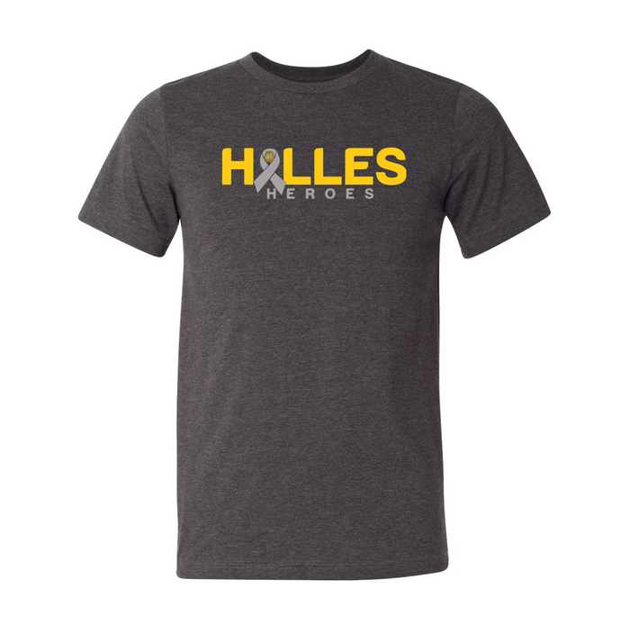 HALLES HEROES - Dark Heather Grey Shirt