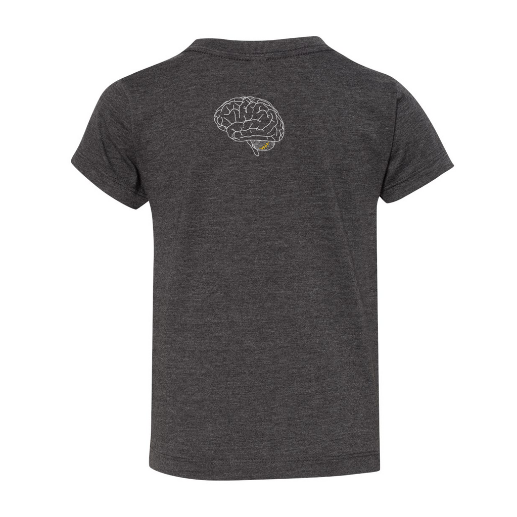 HALLES HEROES -  Dark Grey Toddler Shirt