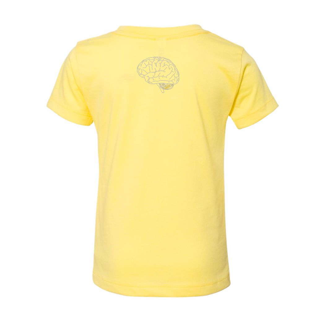 HALLES HEROES -  Yellow Toddler Shirt