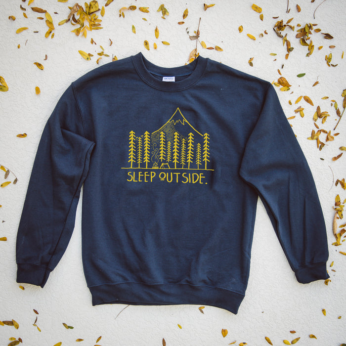 Sleep Outside Sweatshirt | Navy