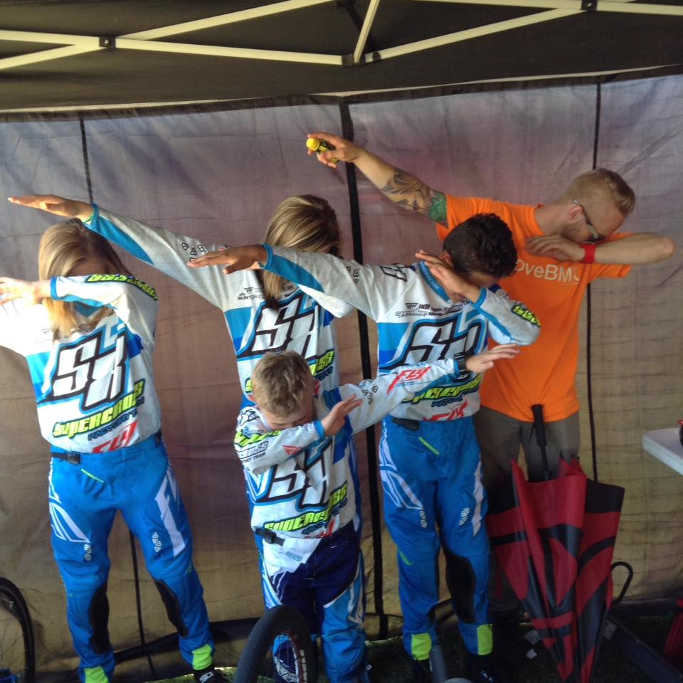 Supercross BMX Factory Team in South Carolina