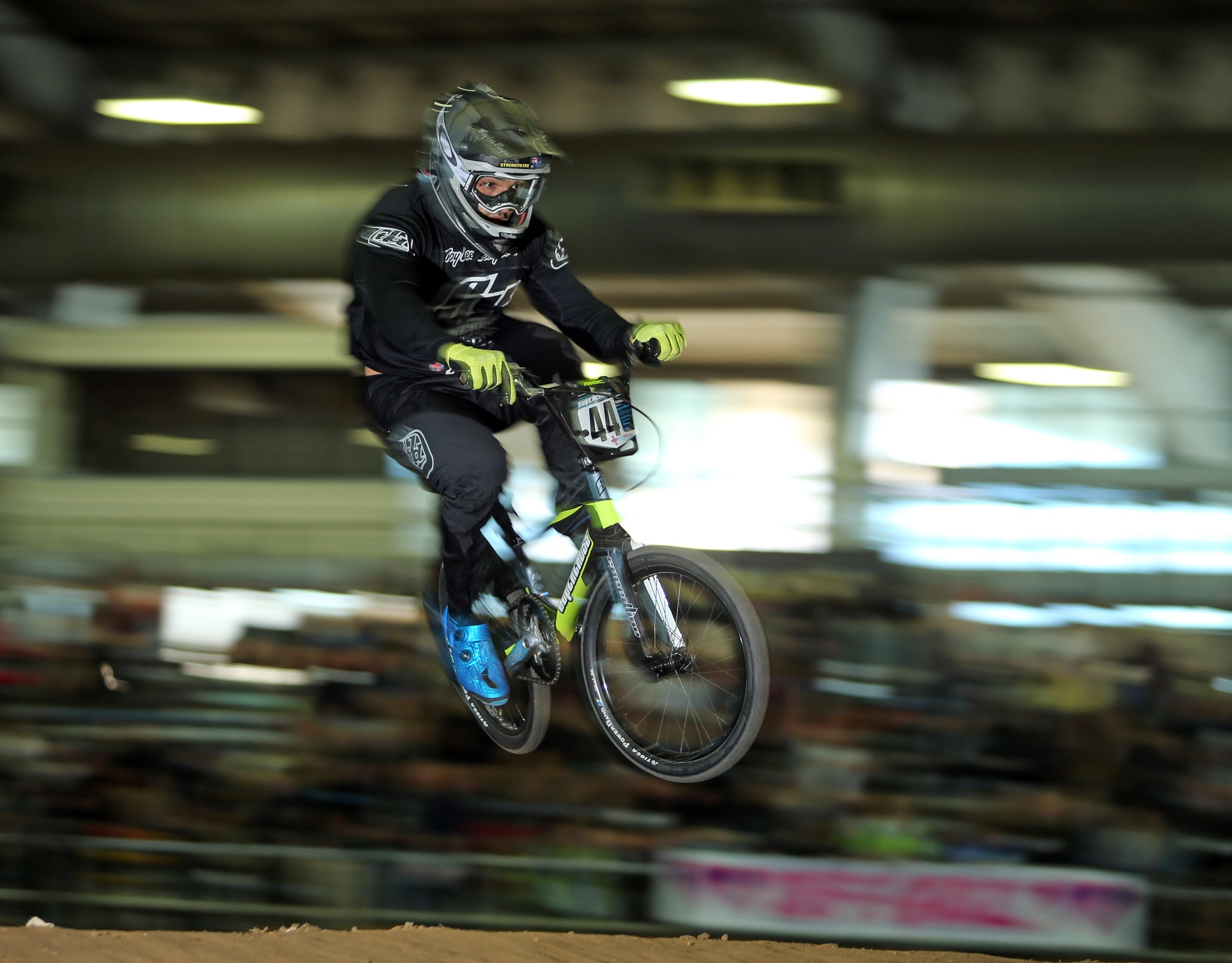 Supercross BMX Elite Men - Anthony Dean having soem fun at the #greatestraceonearth