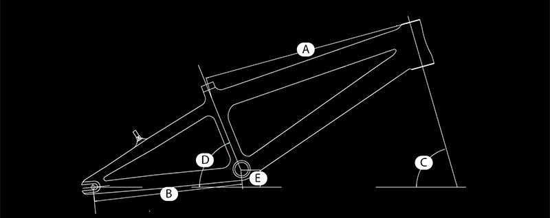 Supercross BMX Frame Geometry Chart